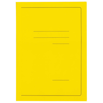 Fascikl klapa karton lak A4 215g Vip Fornax žuti